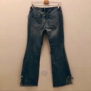 Free People Jeans - NWT We The Free Vintage Maya Raw Flare Jean Sz 27